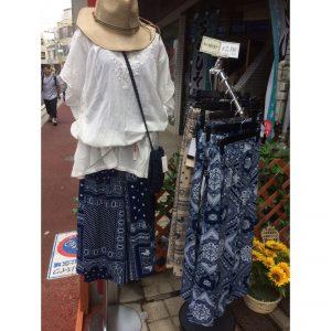 夏物スカート